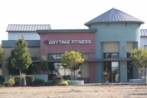 Anytime Fitness storefront exterior in Petaluma, CA. View larger image.
