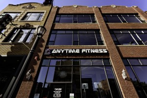 Anytime Fitness storefront exterior in St. Paul, MN. View larger image.