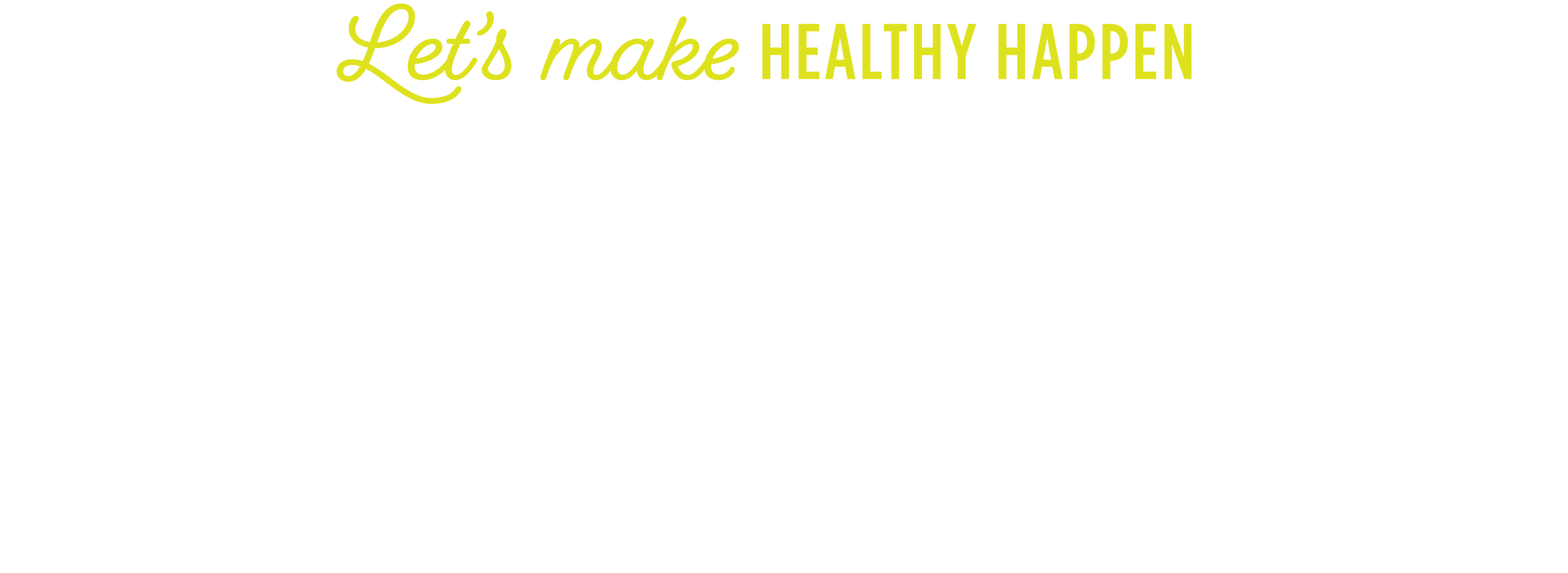Let's Make Healthy Happen 21-Day Transformation