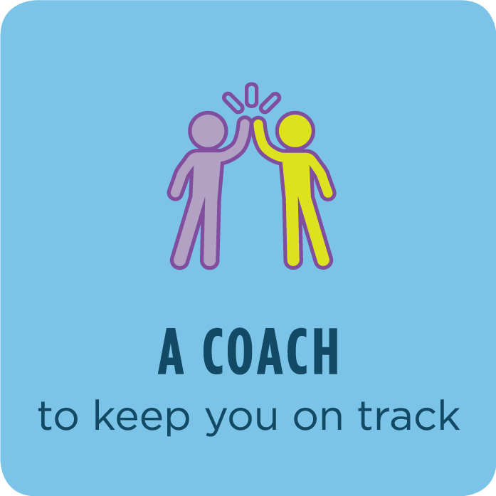 A Coach to keep you on track
