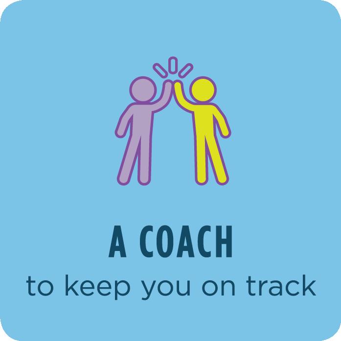A Coach to keep you on track