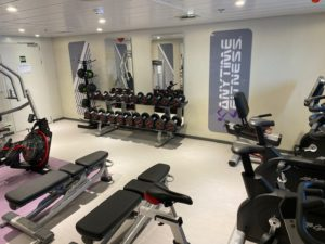 Anytime Fitness Gym in Antartica