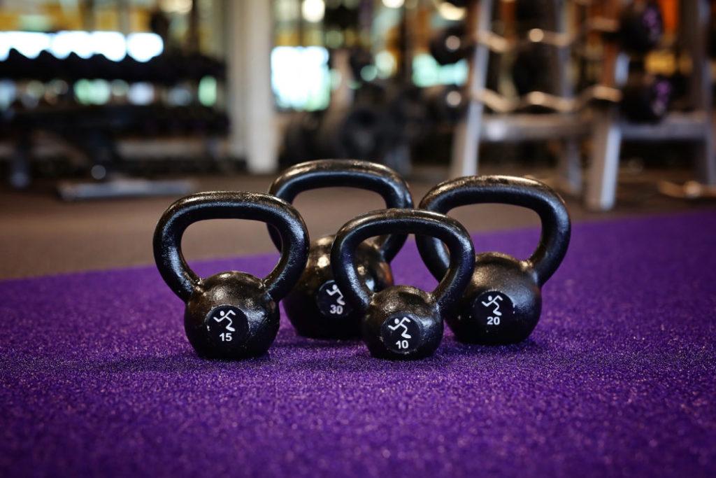 Anytime Fitness Kettlebells