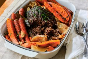 Slow-Cooker Balsamic Beef Pot Roast